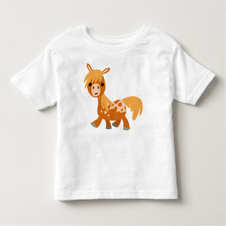 Cute Cartoon Appaloosa Pony children T-shirt