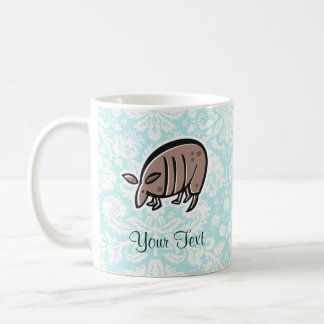 Cute Cartoon Armadillo Coffee Mug