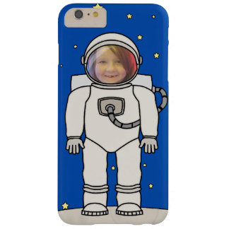 Cute Cartoon Astronaut Photo Costume Template Barely There iPhone 6 Plus Case