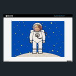 "Cute Cartoon Astronaut Photo Costume Template Decal For Laptop<br><div class=""desc"">Customize this fun design by uploading your own photo to the cutout area to instantly be wearing an astronaut&#39;s space suit costume. Please feel free to contact me if you require any assistance in positioning your photo. A great novelty gift for both kids and adults.</div>"
