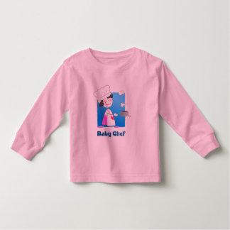 Cute Cartoon Baby Chef Tee Shirt