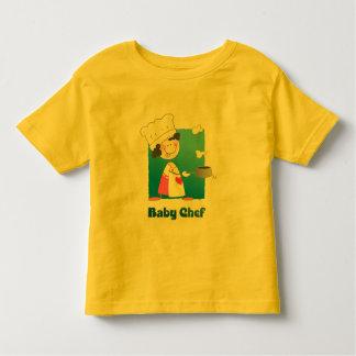 Cute Cartoon Baby Chef T Shirts