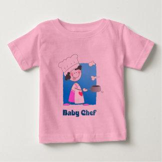 Cute Cartoon Baby Chef T-shirt