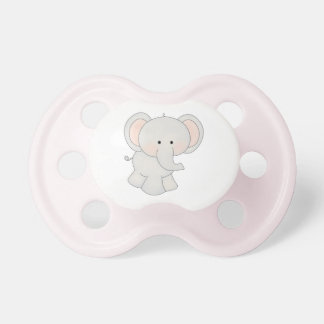 Cute Cartoon Baby Elephant Pacifier