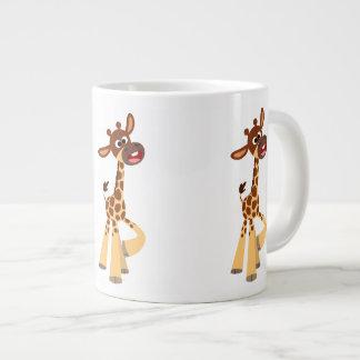Cute Cartoon Baby Giraffe Jumbo Mug