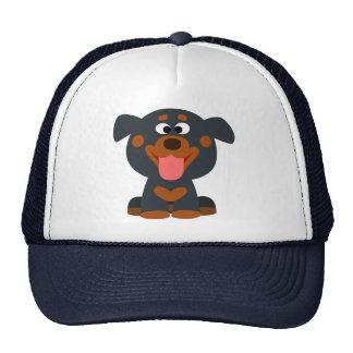 Cute Cartoon Baby Rottweiler Hat