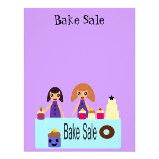 Cute cartoon Bake Sale Flyer