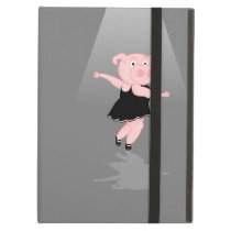 Cute Cartoon Ballet Dancing Pig Case For iPad Air