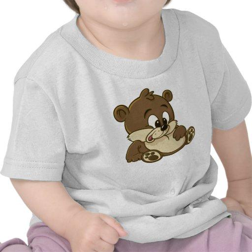 Cute Cartoon Bear baby's tshirt