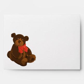 Cute cartoon bear envelope