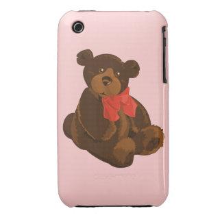 Cute cartoon bear iPhone 3 cover