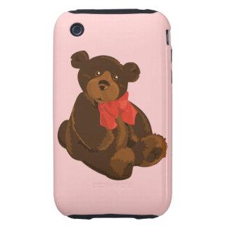 Cute cartoon bear tough iPhone 3 cover