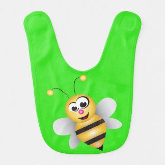 Cute Cartoon Bee Bib