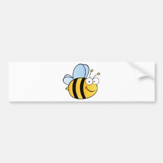 Cute Cartoon Bee Bumper Stickers