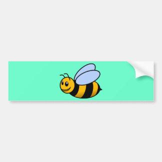 Cute Cartoon Bee Bumper Sticker