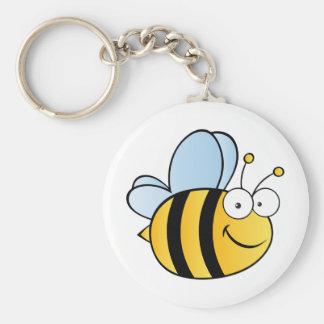 Cute Cartoon Bee Keychain