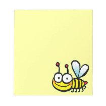 cute cartoon bee notepad