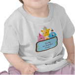 Cute Cartoon Birthday Animals Customizable Tee Shirts