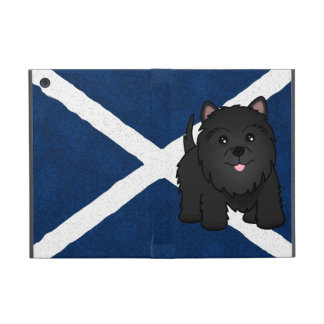 Cute Cartoon Black Scottish Terrier Puppy Dog Cover For iPad Mini