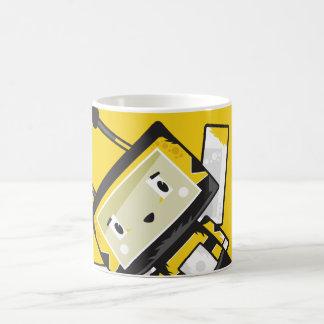 Cute Cartoon Blockimals Bee Coffee Mug