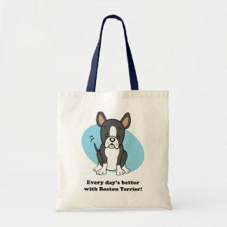 Cute Cartoon Boston Terrier Corgi Bag