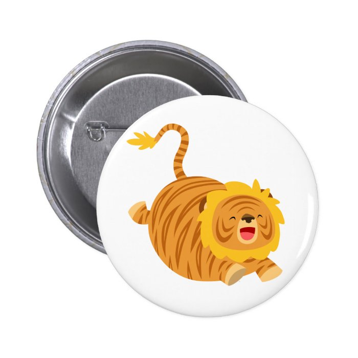 Cute Cartoon Bouncy Liger Button Badge