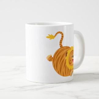 Cute Cartoon Bouncy Liger T-Shirt Jumbo Mug