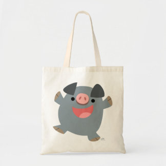 Cute Cartoon Bouncy Pig Bag