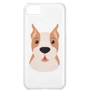 Cute Cartoon Boxer (Dog) iPhone 5C Cases