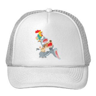 Cute Cartoon Bremen Town Musicians Hat