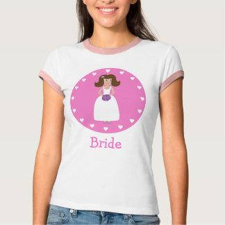 Cute Cartoon Bride T-Shirt