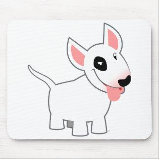 Cute Cartoon Bull Terrier Mousepad