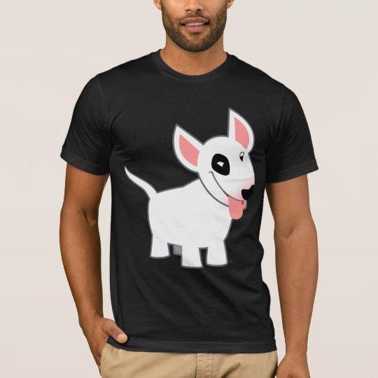Cute Cartoon Bull Terrier T-Shirt
