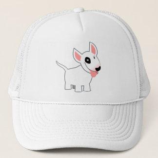 Cute Cartoon Bull Terrier T-Shirt Trucker Hat