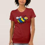 Cute cartoon bumble bee tees