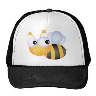 CUTE CARTOON BUMBLEBEE BEE HONEYBEE smiling orange Trucker Hat
