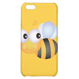 CUTE CARTOON BUMBLEBEE BEE HONEYBEE smiling orange iPhone 5C Cover