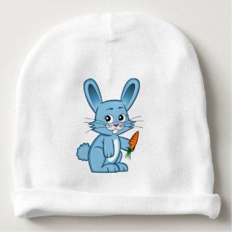 Cute Cartoon Bunny Baby Beanie