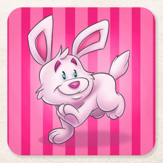 cute cartoon bunny coaster