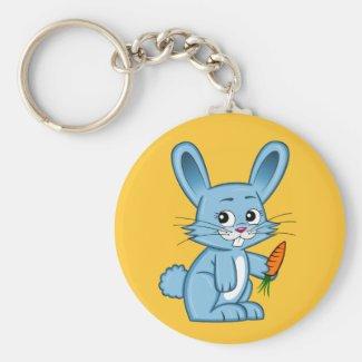 Cute Cartoon Bunny Keychain
