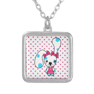 Cute Cartoon Bunny Rabbit Necklace