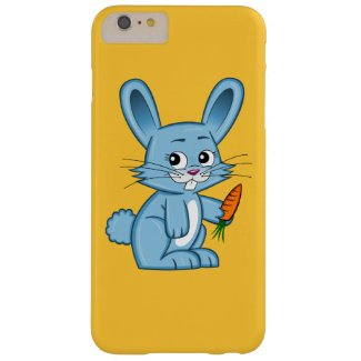 Cute Cartoon Bunny with Carrot iPhone 6 Plus Case
