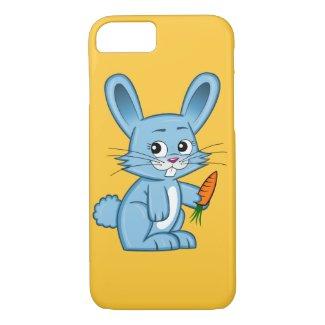 Cute Cartoon Bunny with Carrot iPhone 7 Case