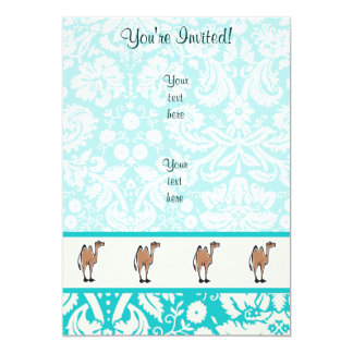 Cute Cartoon Camel Card