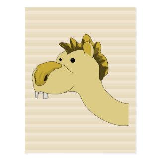 Cute Cartoon Camel Postcard