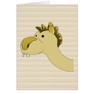 Cute Cartoon Camel Stationery Note Card
