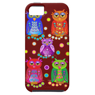 Cute Cartoon case-mate with Decorated Owls