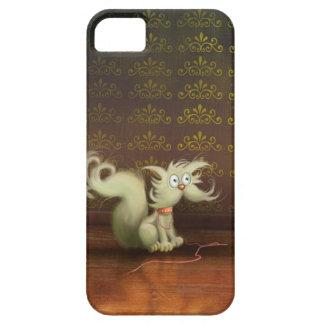 cute cartoon cat iPhone 5 Cases