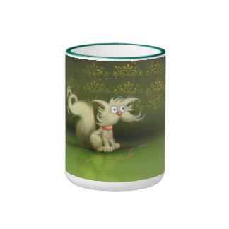 cute cartoon cat Mug
