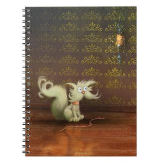 cute cartoon cat Notebook